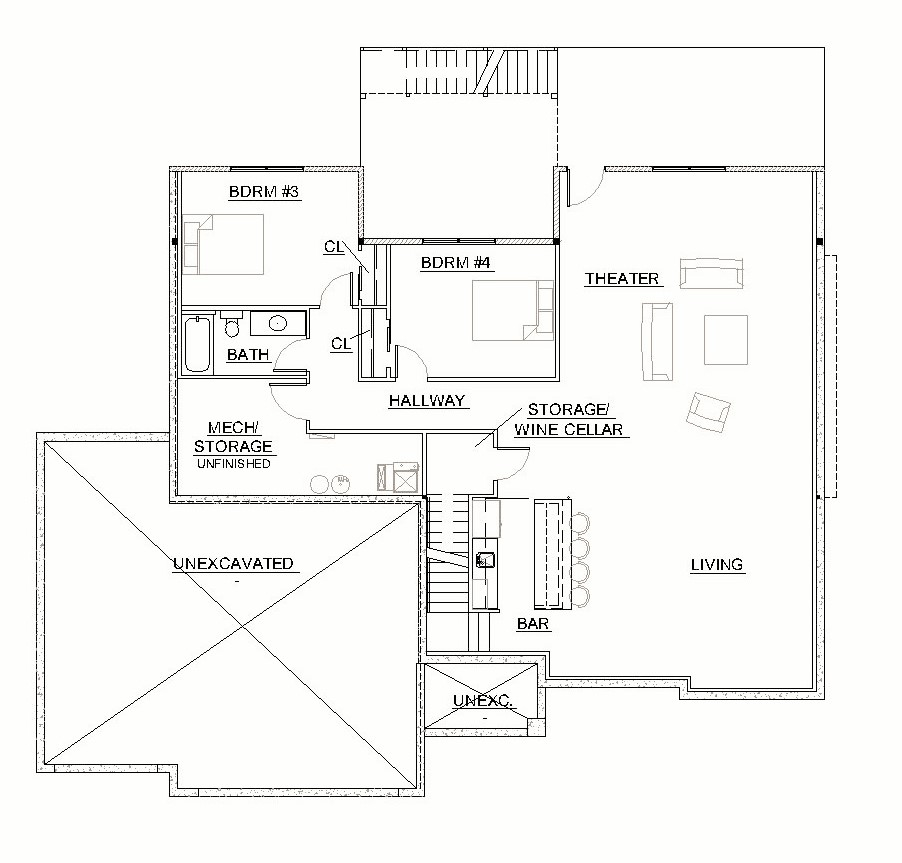 Custom ranch floor plan ccs homes custom home builder for Custom ranch floor plans